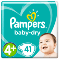 Luiers GVP Baby Dry maat 4+